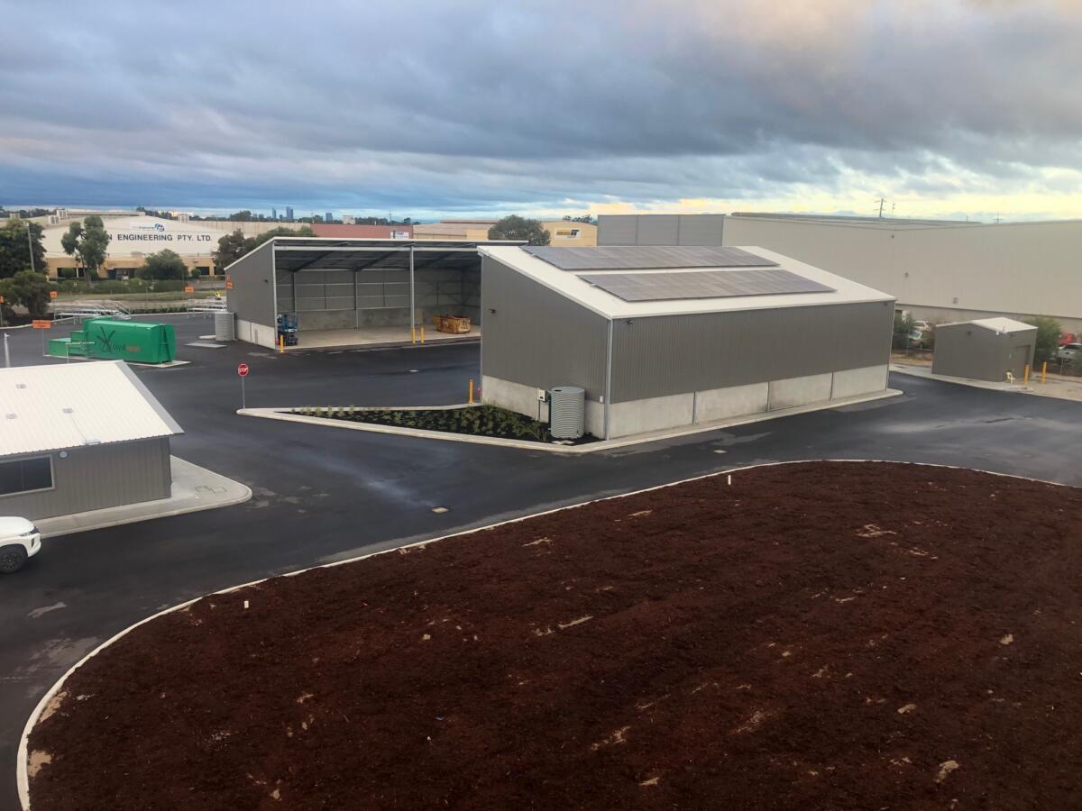 Malaga Waste Transfer - Bistel Construction 1